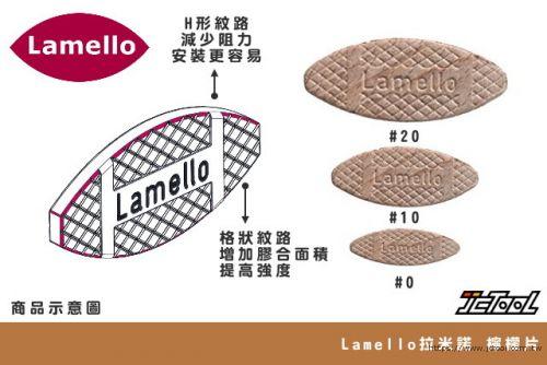 Lamello 拉米諾 檸檬片 榫接片