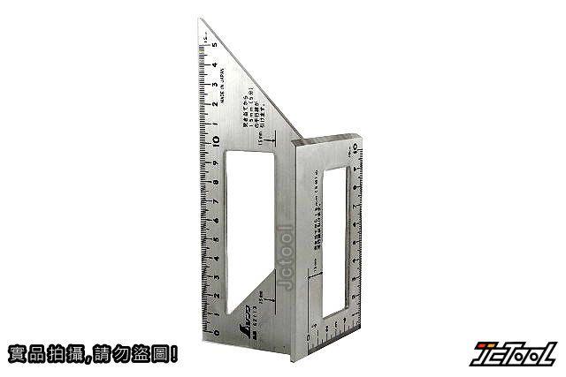 SHINWA 一發止型定規 62113 (鋁)