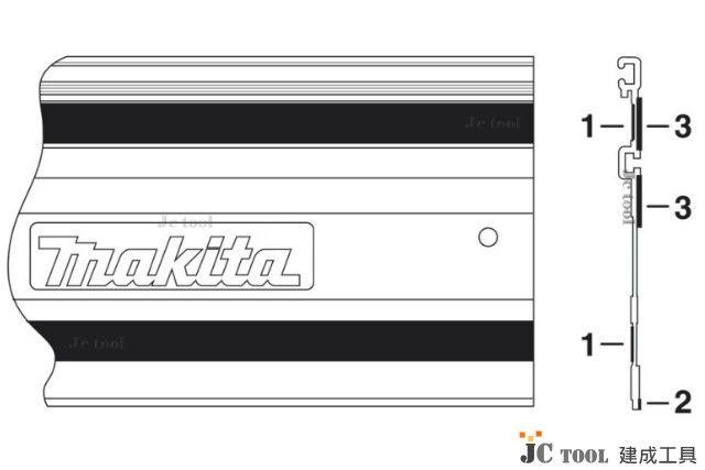 Makita 直線 導軌板 海綿墊