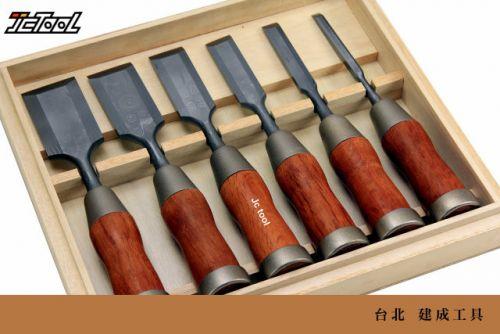 KAKURI 大馬士革疊層 鑿刀 6支組